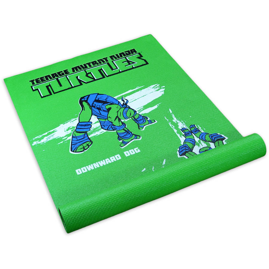 Teenage Mutant Ninja Turtles Modern Leonardo Kids Yoga Mat