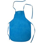 Child's Youth Blue Chef Food Crafting Activity Apron Party Costume Accessory