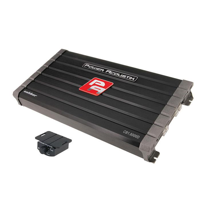 Power Acoustik CB1-8000D Caliber Series Monoblock Class D Amp (8,000 Watts Max)
