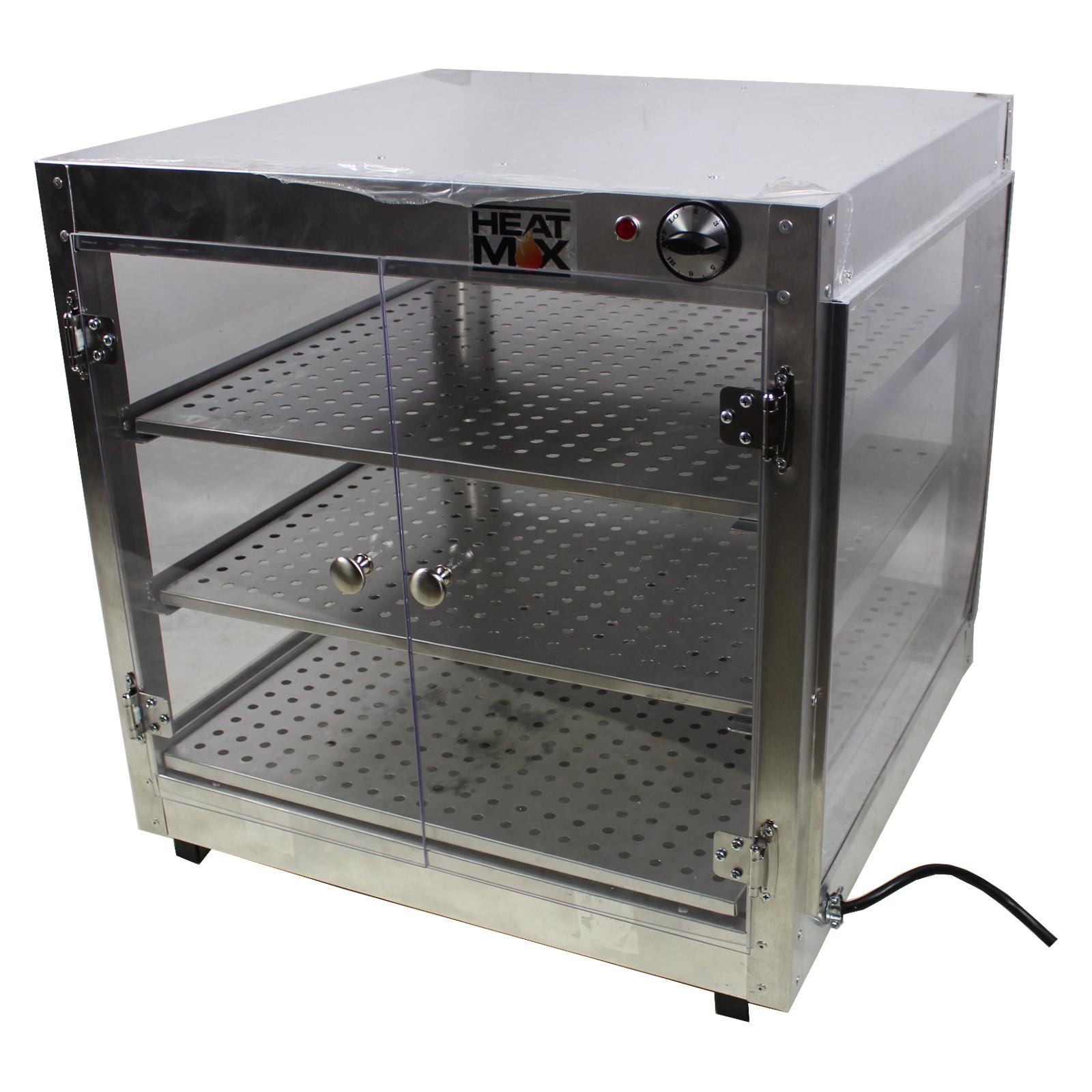 HeatMax Commercial 24 x 24 x 24 Countertop Food Pizza Pas...