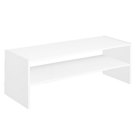 Dreambone Horizontal Storage Stacker Organizer, White