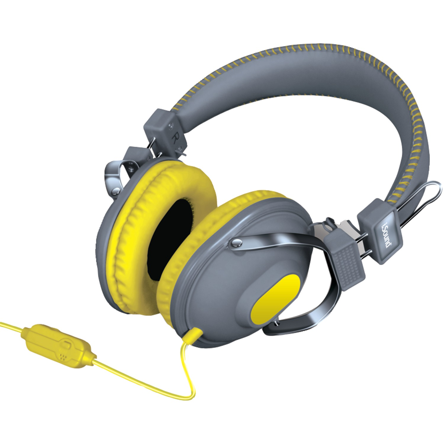 dreamGEAR DGHM-5523 HM-260 Headphones with Microphone (Yellow)