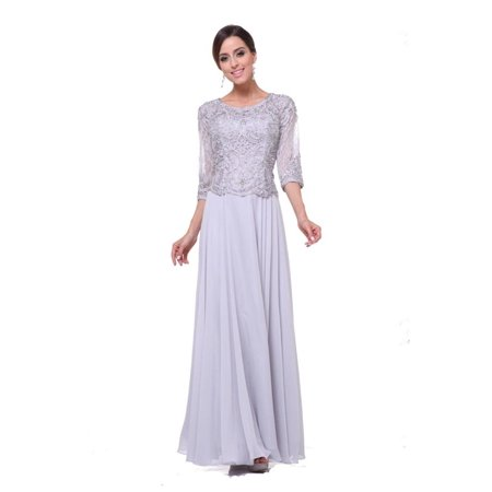 a363b775c5e4 MQ - Long Sleeve Mother of the Bride Dress 2018 - Walmart.com