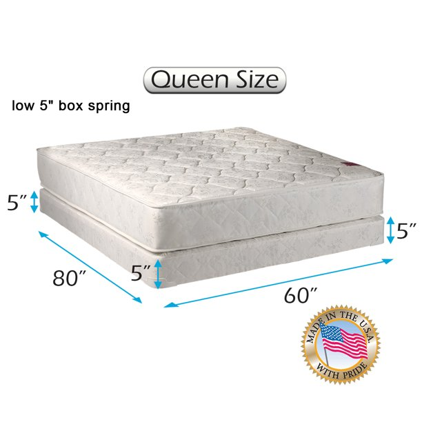 Dream Sleep Legacy 2 Sided Queen Size, What Is A Queen Size Bed Usa
