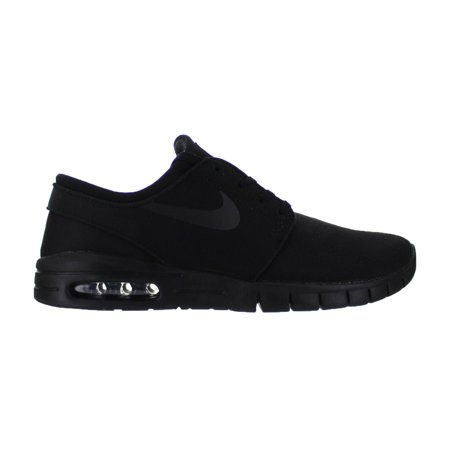 Mens Nike SB Stefan Janoski Max Black Anthracite 631303-007 - Walmart.com