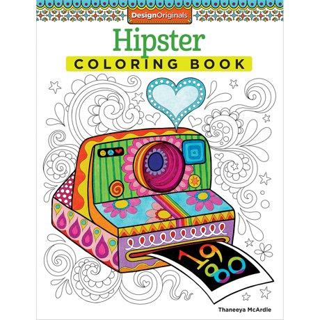 Design Originals Hipster Coloring Book
