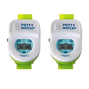 Potty Watch Potty Training Timer, 2 Pack - Green