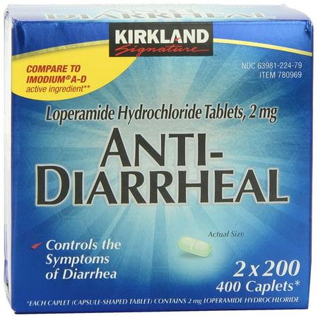 Antidiarrhéiques 400 Caplets navire d'Amérique