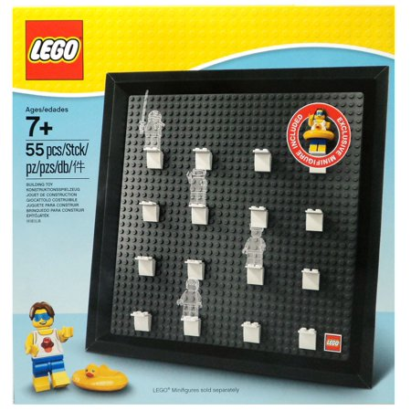 Lego 5005359 Minifigure Collector Frame Stud Muffin With Duck Tube Minifigures (Logo Tube)