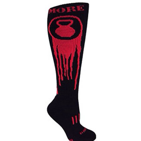 MOXY Socks Black with Red