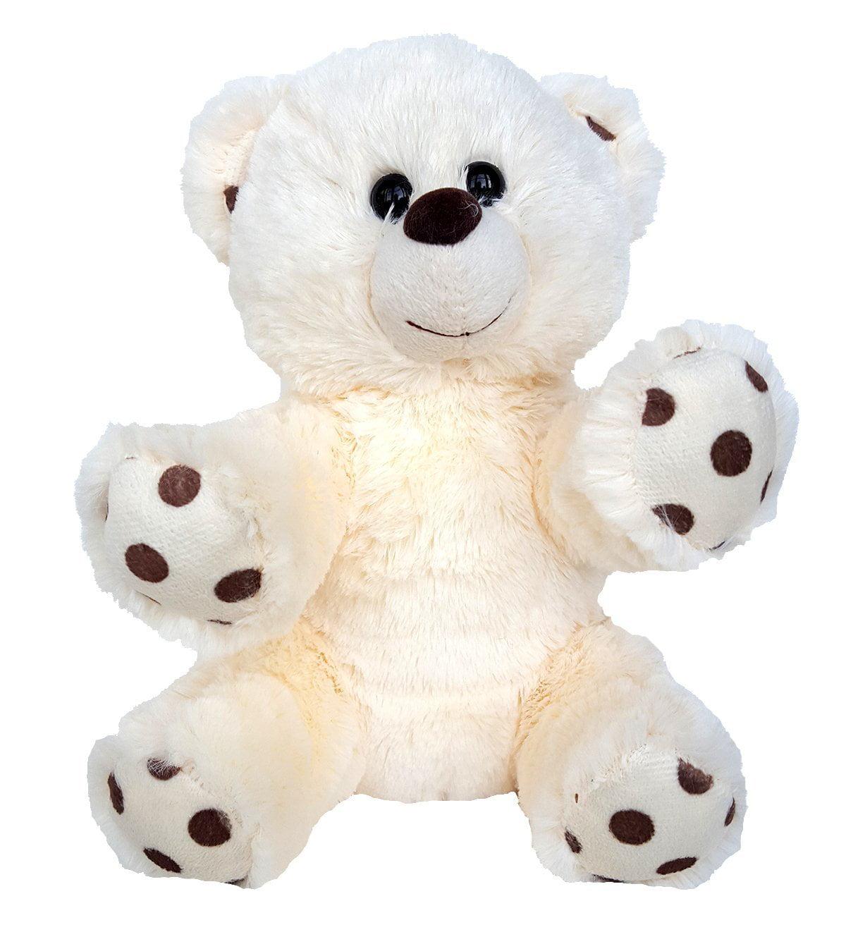 Cuddly Soft 8 inch Stuffed Polka Dot Bear...We stuff 'em...you love 'em!