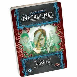 Netrunner Overdrive Draft Runner Pack Card Game Fantasy