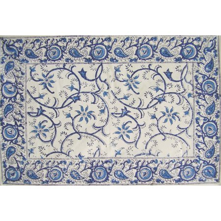 Table Tops Unlimited Vine (Rajasthan Vine Cotton Table Placemat 19