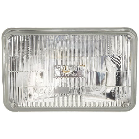 SYLVANIA H4656 SilverStar High Performance Halogen Sealed Beam Headlight 100x165