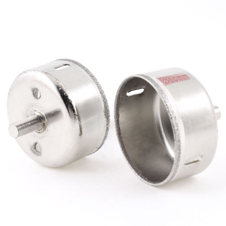 60mm Diamond Forstner Bits Tool Granite Glass Hole Saw Pair - image 1 of 1