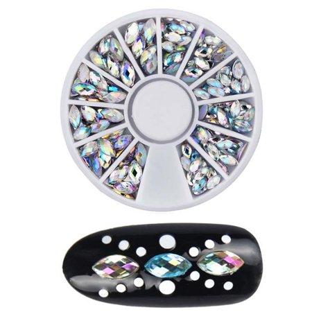 DIY Nail Art Gems Decoration Crystal For Nail Polish UV Gel Acrylic Manicure](Uv Decorations)