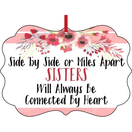 Sister Quote Side By Side Or Miles Apart Sisters Will Always Be