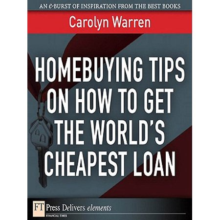 Homebuying Tips on How to Get the World's Cheapest Loan - eBook](Cheapest Place For School Supplies)