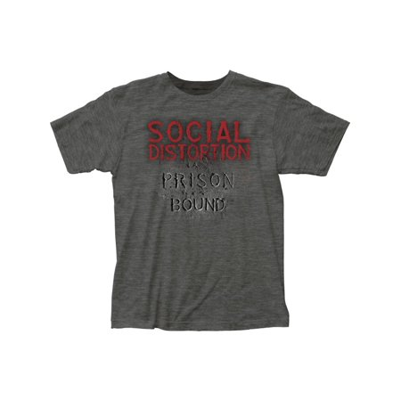 social distortion '78 punk rock band prison bound adult fitted jersey tshirt tee ()