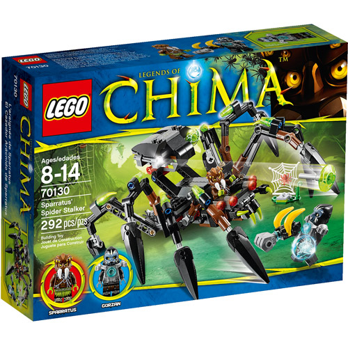 LEGO Chima Sparratus' Spider Stalker Play Set