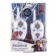 Frozen 2 Walkie Talkies for Kids, 2 Way Radio Walkie Talkies. Long Range with Flashing Lights & Sound Effects, Handheld Kids Walkie Talkies, Indoor and Outdoor Adventure Game Play