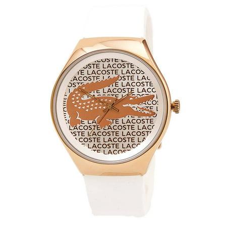 Lacoste - Lacoste Valencia Silicone - White Women s watch 2000809 -  Walmart.com c6892c8b4e