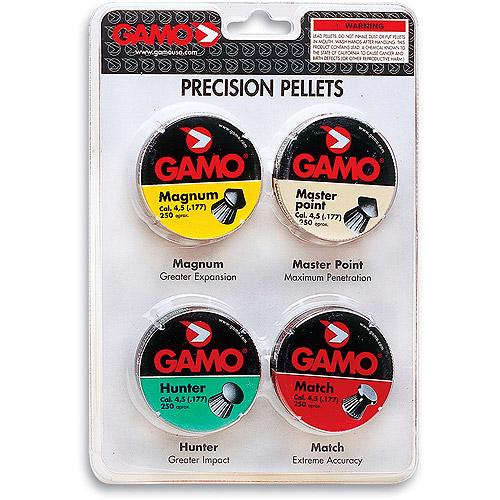 Gamo 632092854 COMBO PAK PERFORMANCE PELLETS .177 CAL. by Gamo