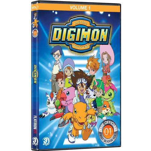Digimon: Digital Monsters - The Official First Season, Volume One
