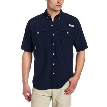 d754ced4156 Columbia - Columbia Men's Bahama II Short Sleeve Shirt, Medium, Collegiate  Navy - Walmart.com