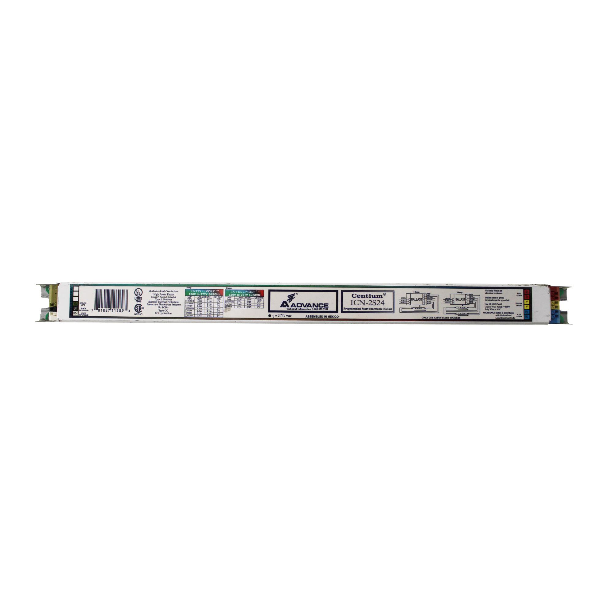 Philips Advance ICN-2S24 Electronic Fluorescent Ballast, ...