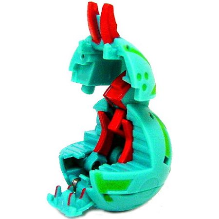 Bakugan New Vestroia Bakubronze LOOSE Single Figure Zephyroz (Green) Scraper