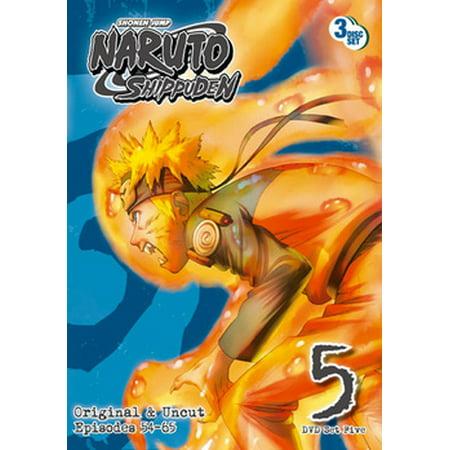 Cool Anime Outfits (Naruto Shippuden: Box Set 5)