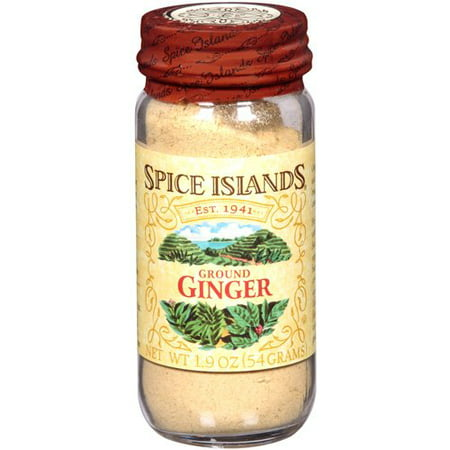 Spice Islands: Ground Ginger Spice, 1.9 - Spice Island Ground