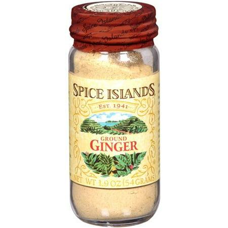 Spice Islands: Ground Ginger Spice, 1.9 Oz (Ginger On Gilligans Island)