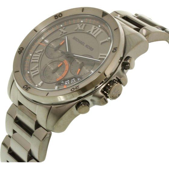 545d277b5b6e Michael Kors - Men s Brecken Grey Chronograph Watch MK8465 - Walmart.com