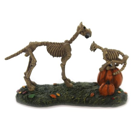 Department 56 Accessory HAUNTED PETS AT PLAY Halloween Acc Skeleton 6001748 - Haunted History Halloween