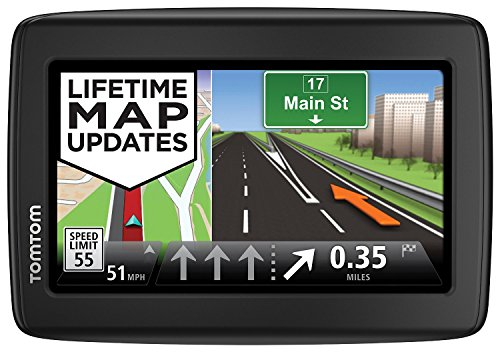 TomTom VIA 1515M 5-Inch Portable Touchscreen Car GPS Navigation Device Lifetime Map Updates (Certified Refurbished) by TomTom