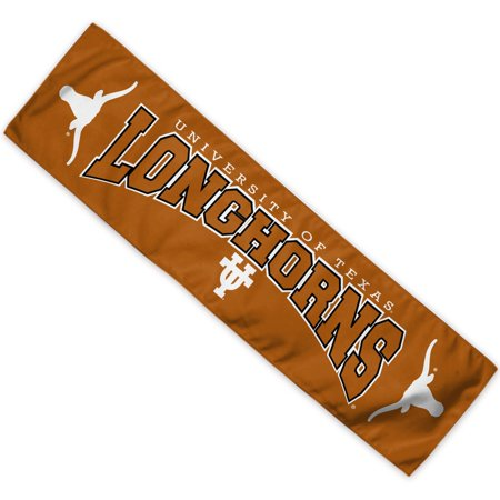 Texas Longhorns Official NCAA 8 inch  x 30 inch  Cooling Towel by Wincraft