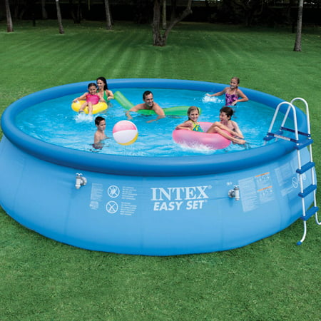 Intex 56904eg 18 feet by 48 inch easy set pool set for Discount above ground pools