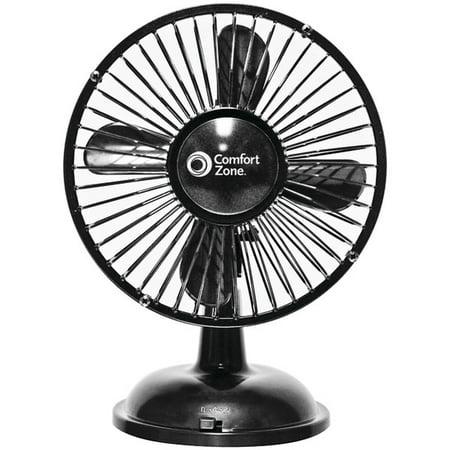 Brand New Oscillating Desk Fan Blk Walmart Com
