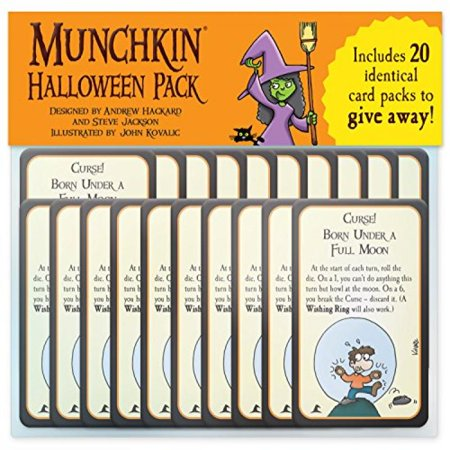 Munchkin Halloween Game Pack Multi-Colored
