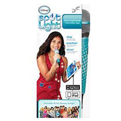 Disney Spotlight Microphone and Karaoke App by First Act