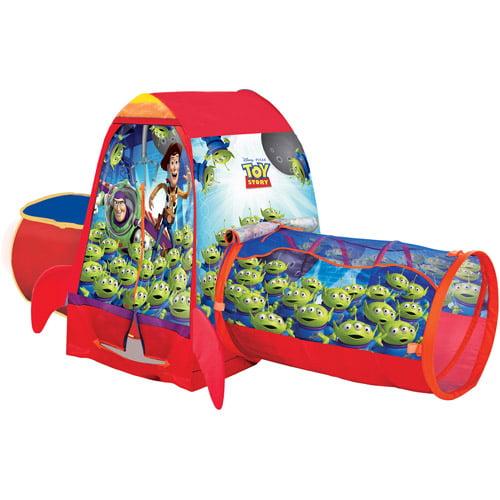 Playhut Disney Toy Story Adventure Hut with Bonus Tunnel