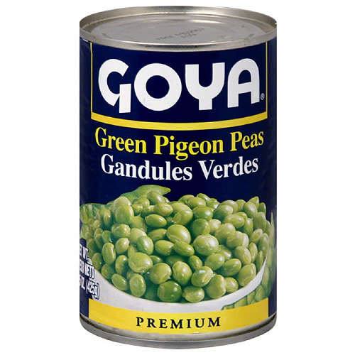 Goya Green Pigeon Peas, 15 oz (Pack of 24)