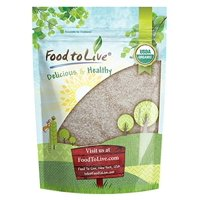 Organic Psyllium Husk Powder, 8 Ounces - Non-GMO, Kosher, Raw, Ultra Fine, Unsweetened, Unflavored, Rich in Fiber, Natural Food Thickener, Great for Baking, Bulk  by Food to Live