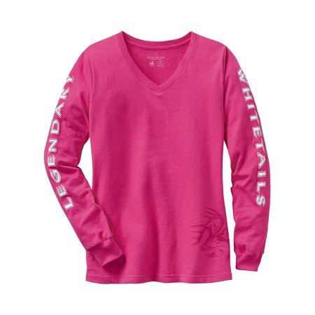 Legendary Whitetails Ladies Non-Typical Long Sleeve Tee