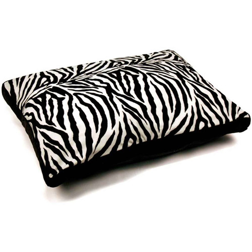 """29"""" X 39"""" Gusseted Zebra Print Bed"""