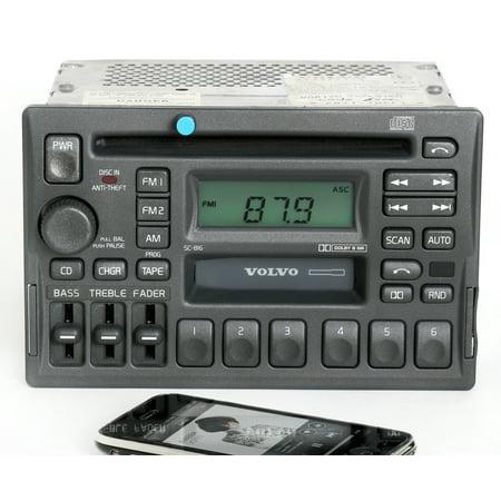 Volvo V70t5 - Volvo 40 70 90 Series 97-04 Radio AM FM CD CS w Bluetooth Music 3533771-1 SC-816 - Refurbished
