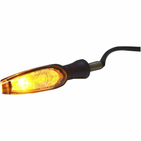 Koso North America HE030011 Infinity LED Indicator Lights - Single Function - Smoke (Led Infinity)