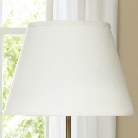 Lamp Shades At Walmart Inspiration Canopy Fresh Ivory SilkBlend English Barrel Lamp Shade Walmart